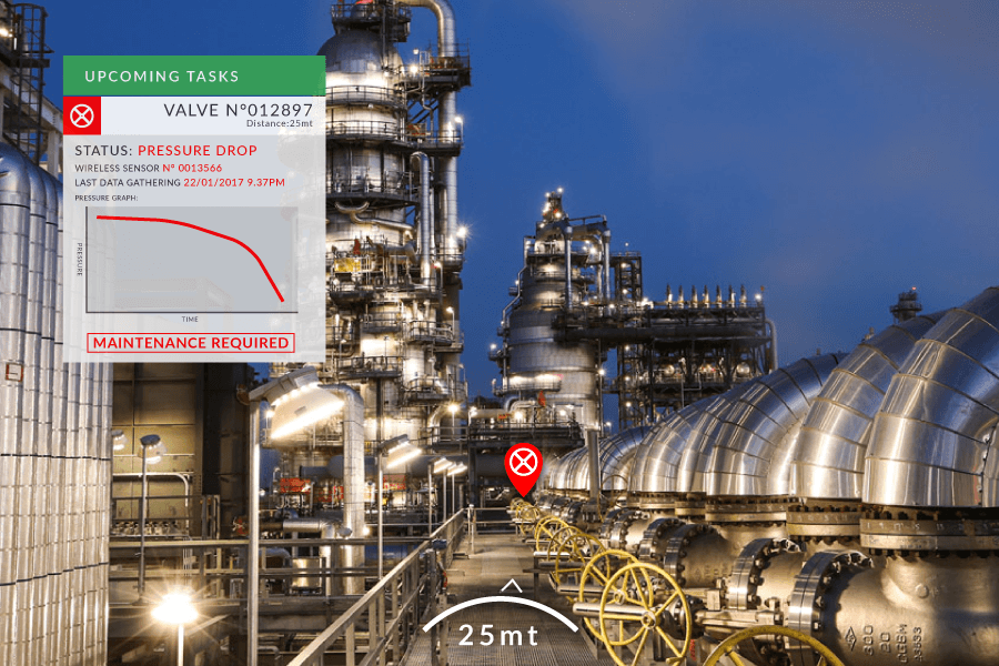 JoinPad Augmented Reality context computing for facility management