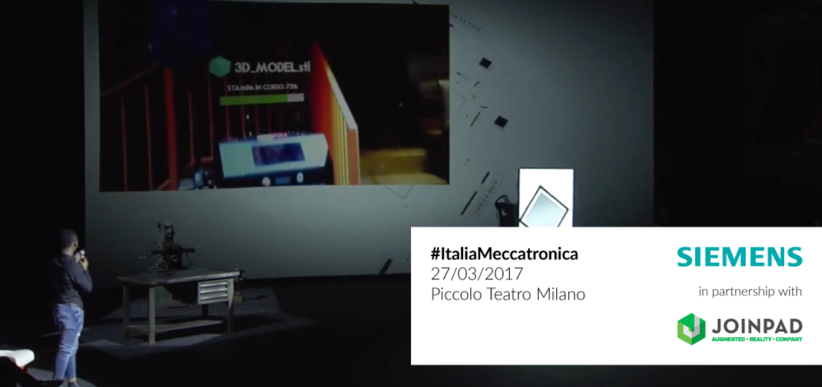 JoinPad and SIEMENS together for #ItaliaMeccatronica