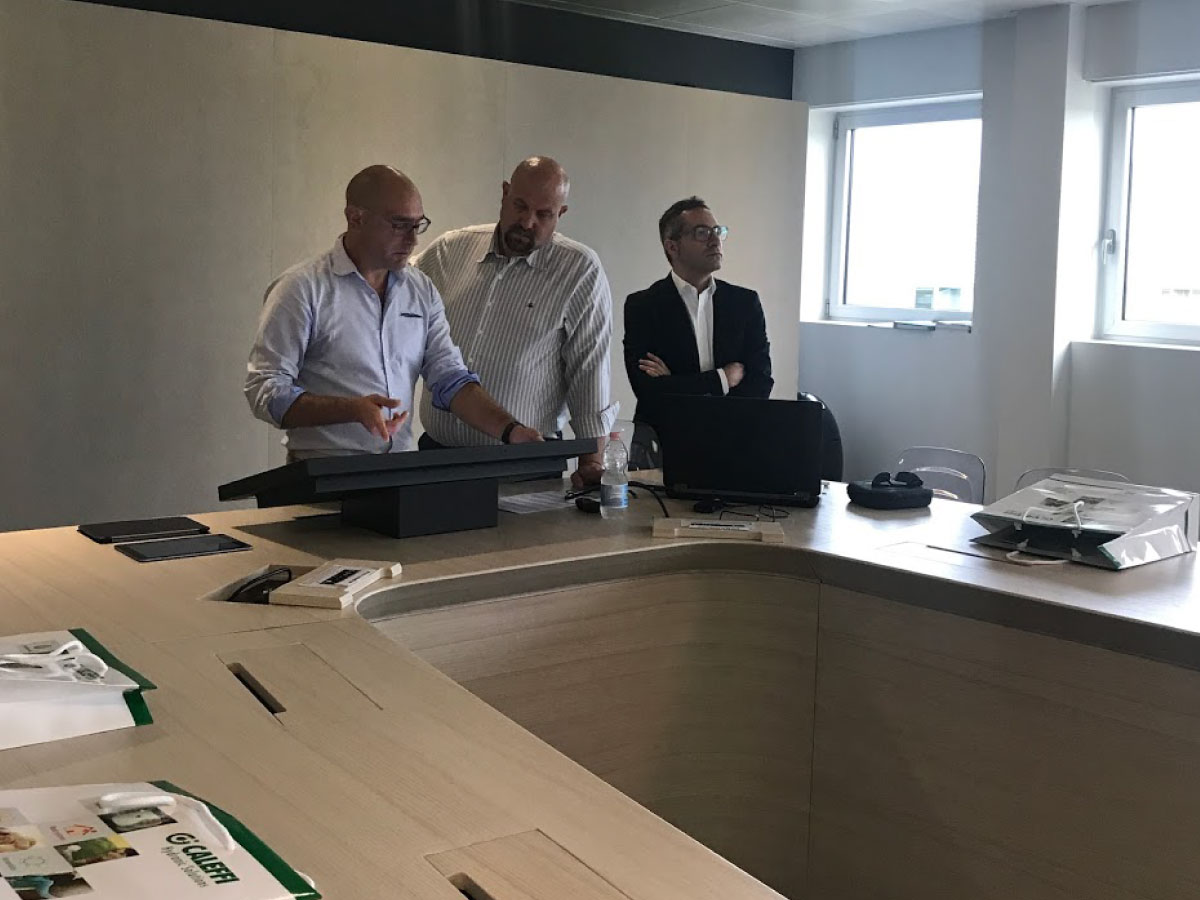 JoinPad with Man & Machine and Caleffi for BIM Managers
