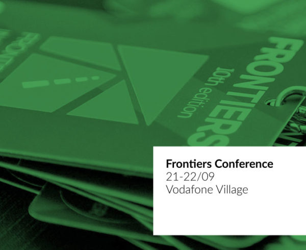 21-22 September | Frontiers Conference