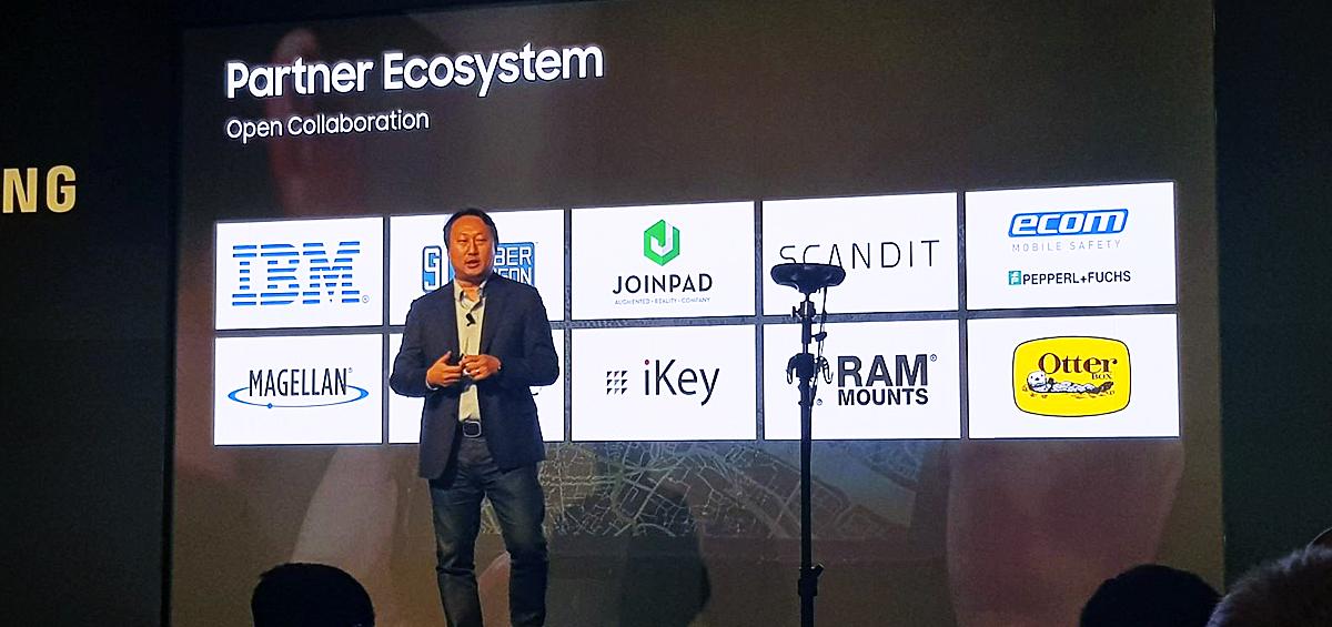 Samsung Mobile Enterprise Summit @ CES 2018 - Report