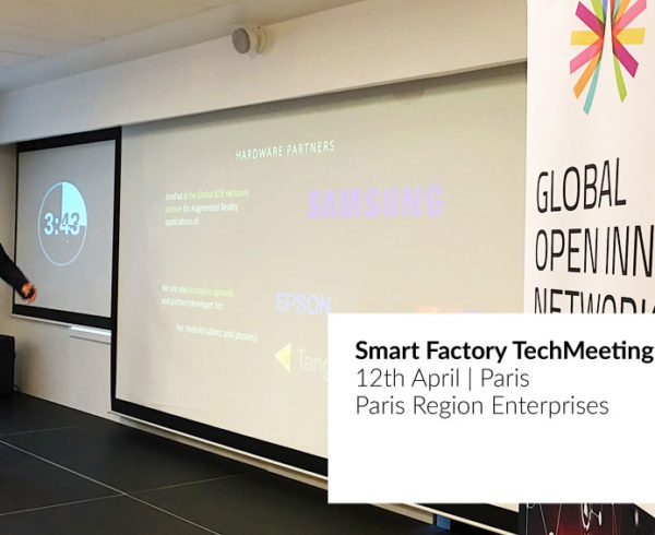 JoinPad at Smart Factory tech meeting in Paris