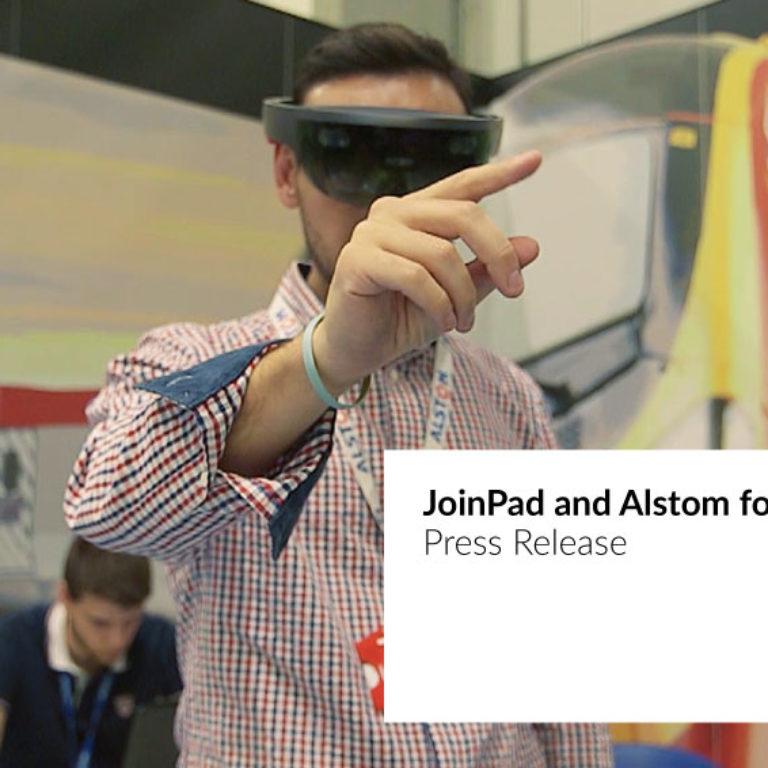 JoinPad collabora con Alstom per fornire supporto remoto in realtà aumentata
