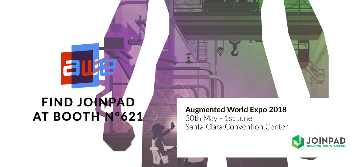 JoinPad at Augmented World Expo 2018
