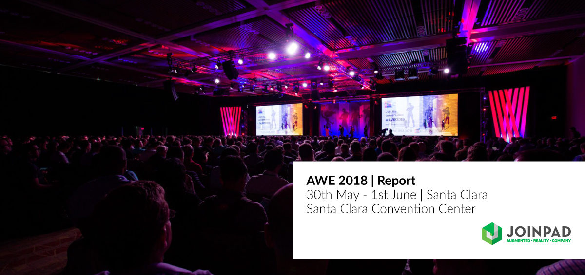 JoinPad attended AWE 2018 in Santa Clara