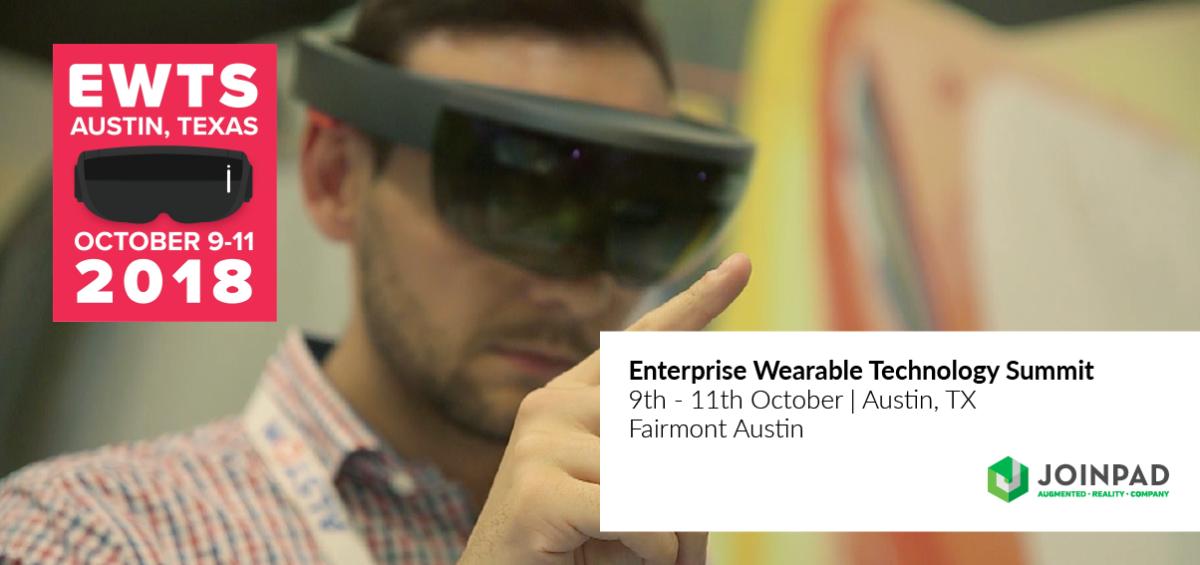 JoinPad attends Enterprise wearable technology summit