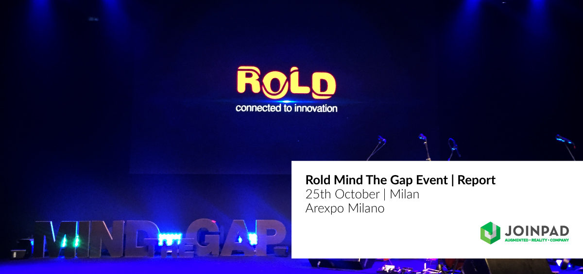 JoinPad attends Rold event Mind the Gap in Milan
