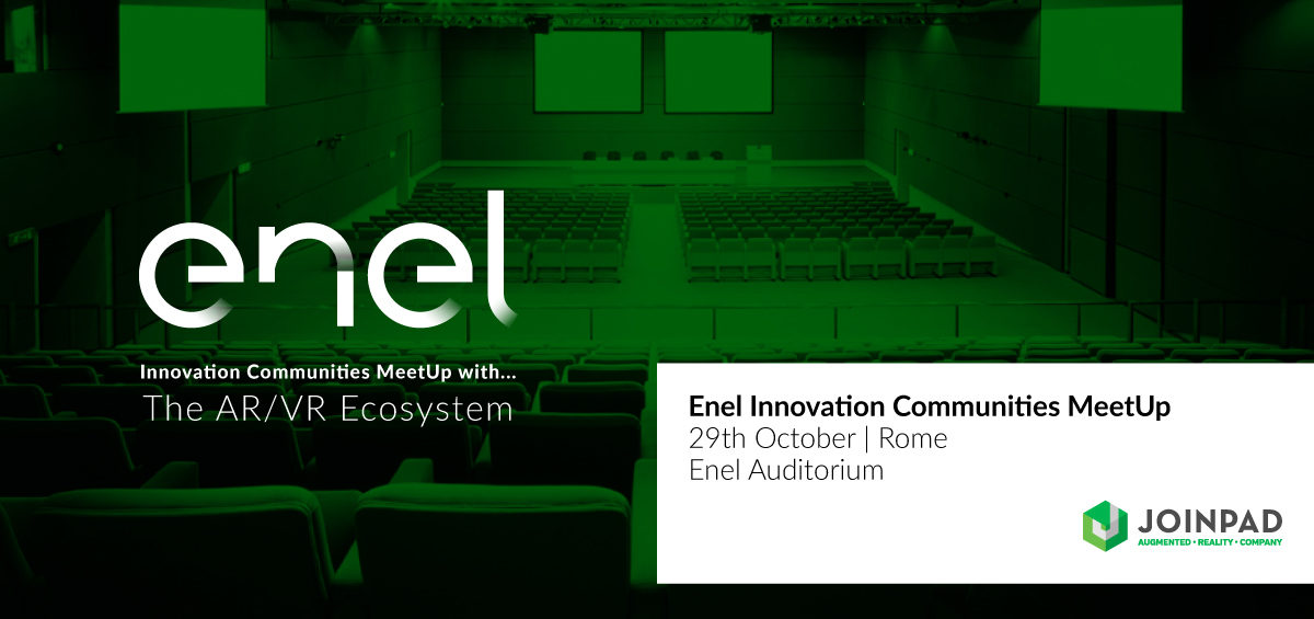 Enel event in Rome on Augmented Reality