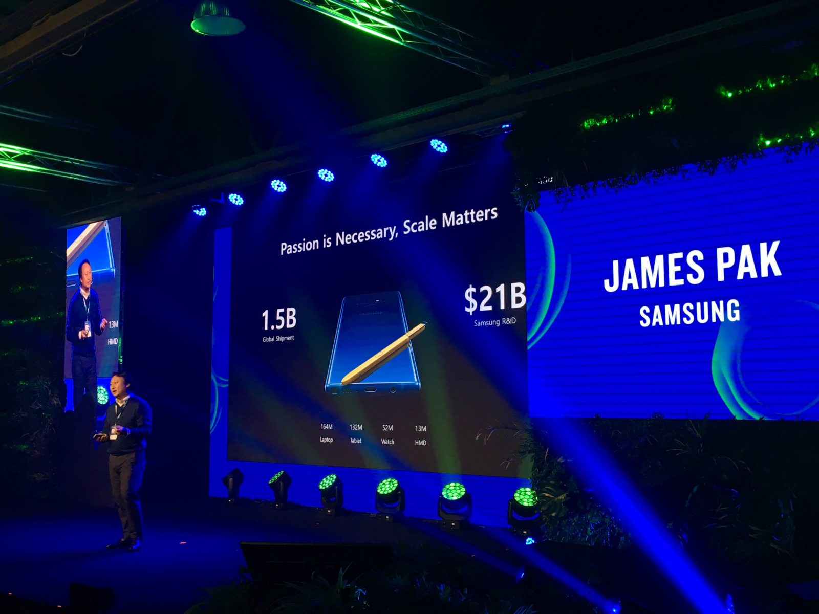 Samsung speech at Futureland