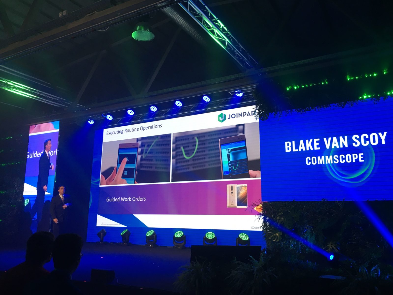 Commscope presents collaboration with JoinPad at Futureland