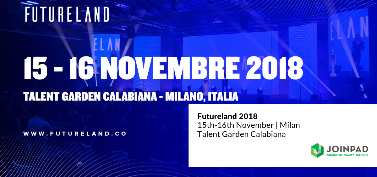 JoinPad partner of Futureland 2018