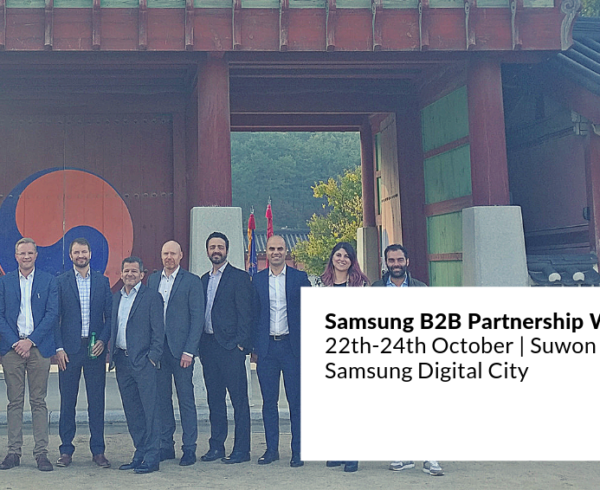 JoinPad attended the partnership workshop with Samsung in Suwon Korea