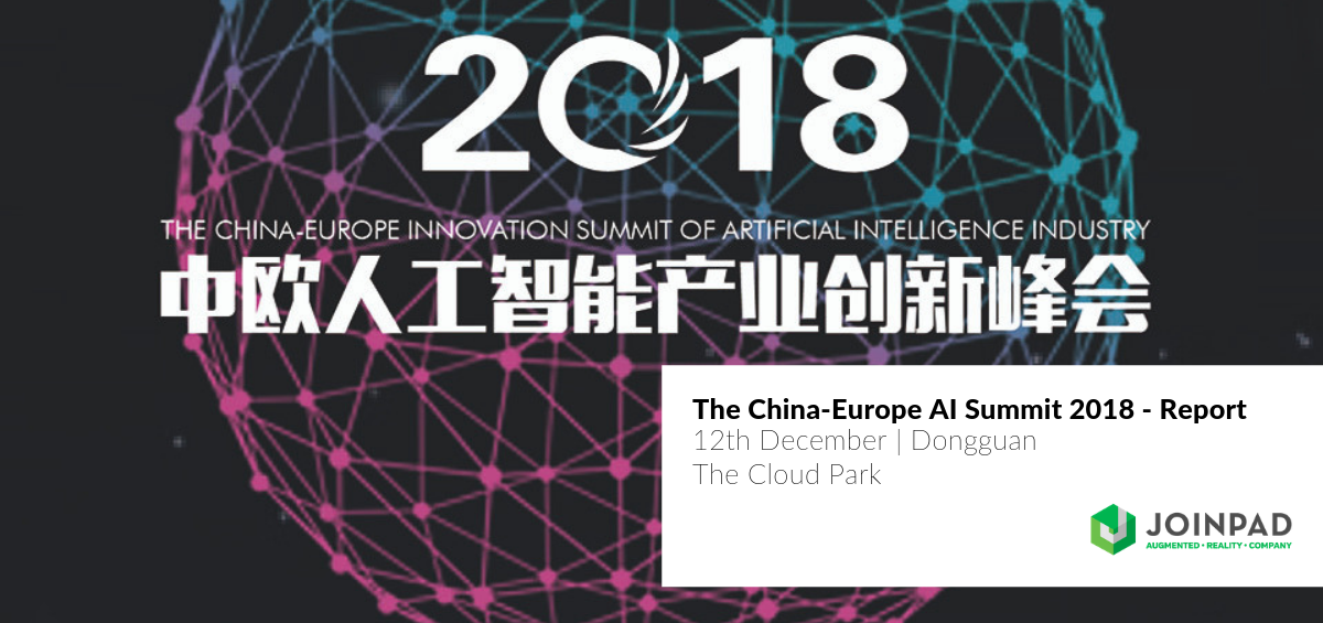 JoinPad took part in the first China-Europe AI Summit