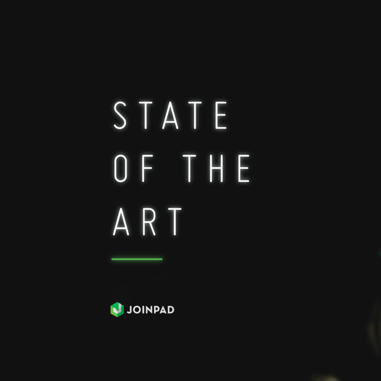 State of the ART a newsletter by JoinPad cover
