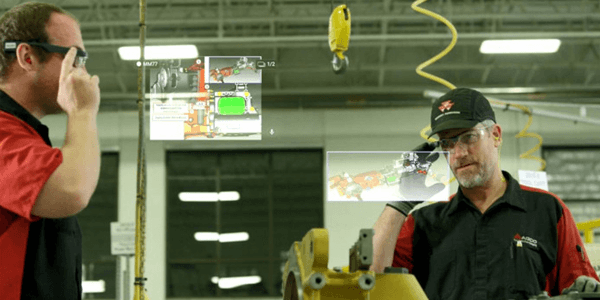AR in industrial processes on State of the ART newsletter by JoinPad Augmented Reality Company