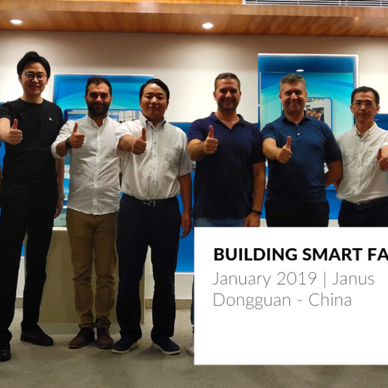 Building Smart factories in China in partnership with Janus
