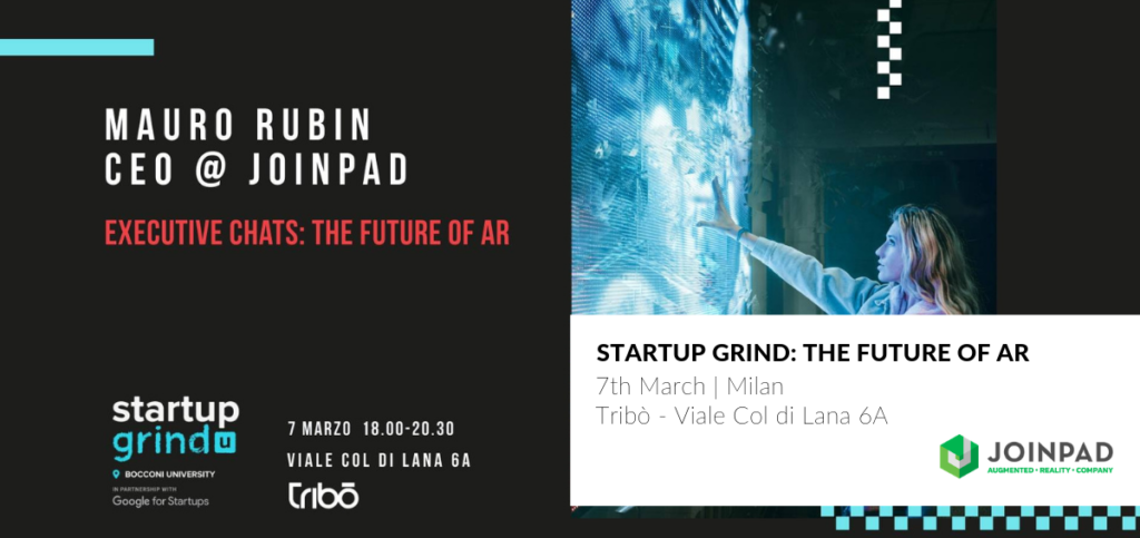Startup Grind Executive Chats: The future of AR   JoinPad