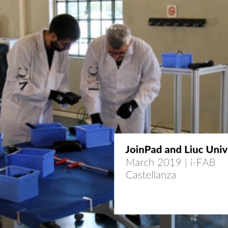 A post about JoinPad partnering with Liuc University to create a laboratory for testing new technologies as Augmented Reality