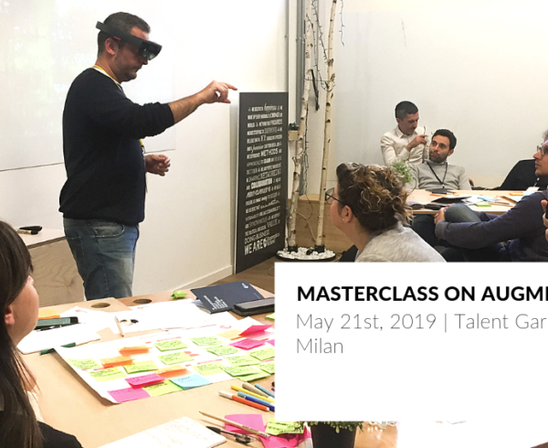 Masterclass on Augmented Reality at Talent Garden