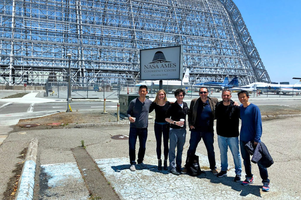 Micro-Hackathon with Verdigris and DGI at Nasa Ames Center