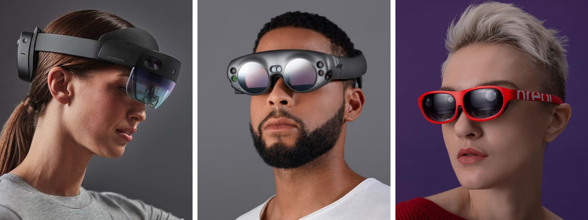 smart glasses for augmented reality