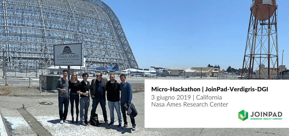 Micro-Hackathon con Verdigris e DGI al Nasa Ames Center