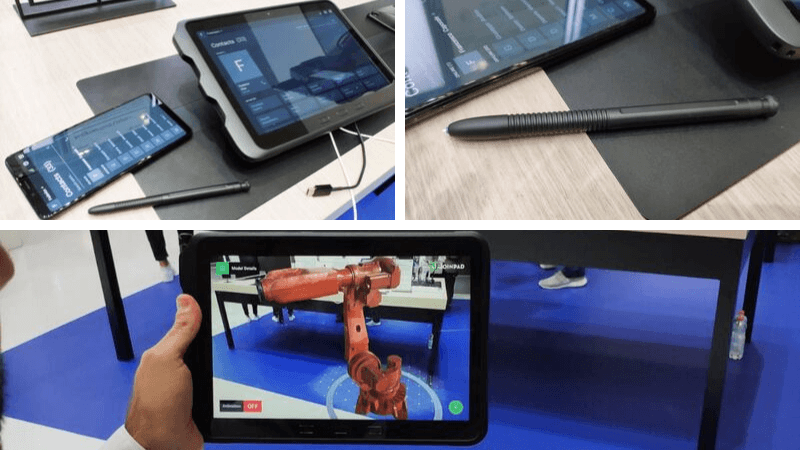 Samsung Tab active pro and JoinPad Augmented Layout