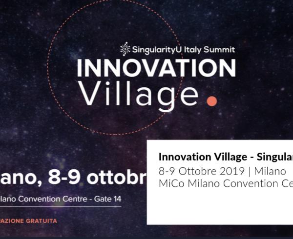 cover post sull'evento Innovation Village di Singularity University