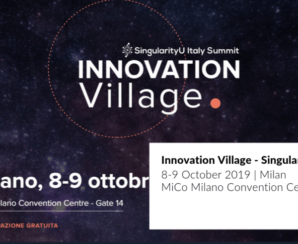 cover Innovation Village Singularity University Summit in Milan