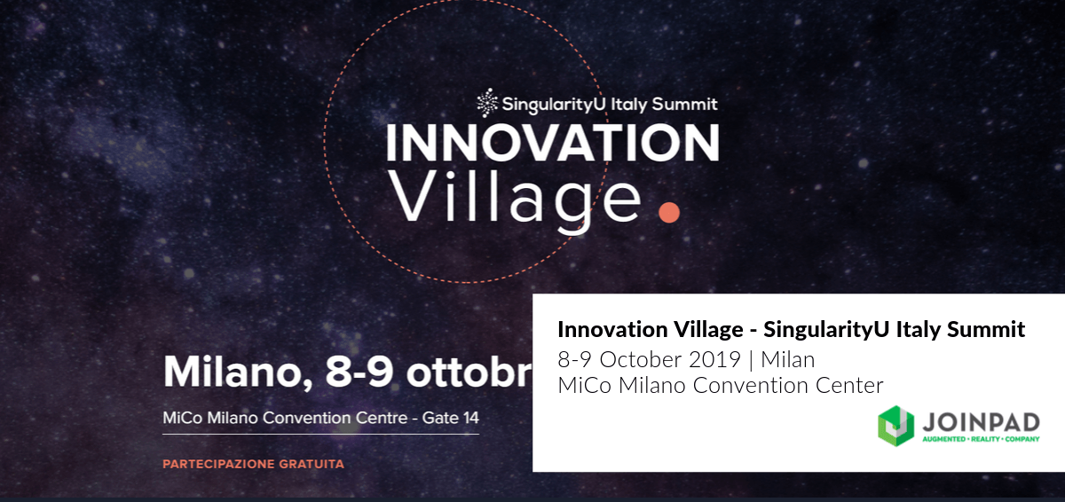 cover Innovation Village Singularity University Summit in Milan