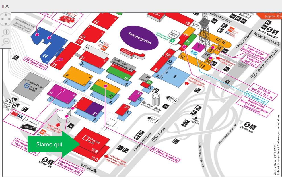 mappa IFA 2019 per JoinPad