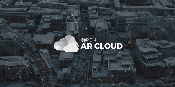 cover image partnership Open AR Cloud newsletter