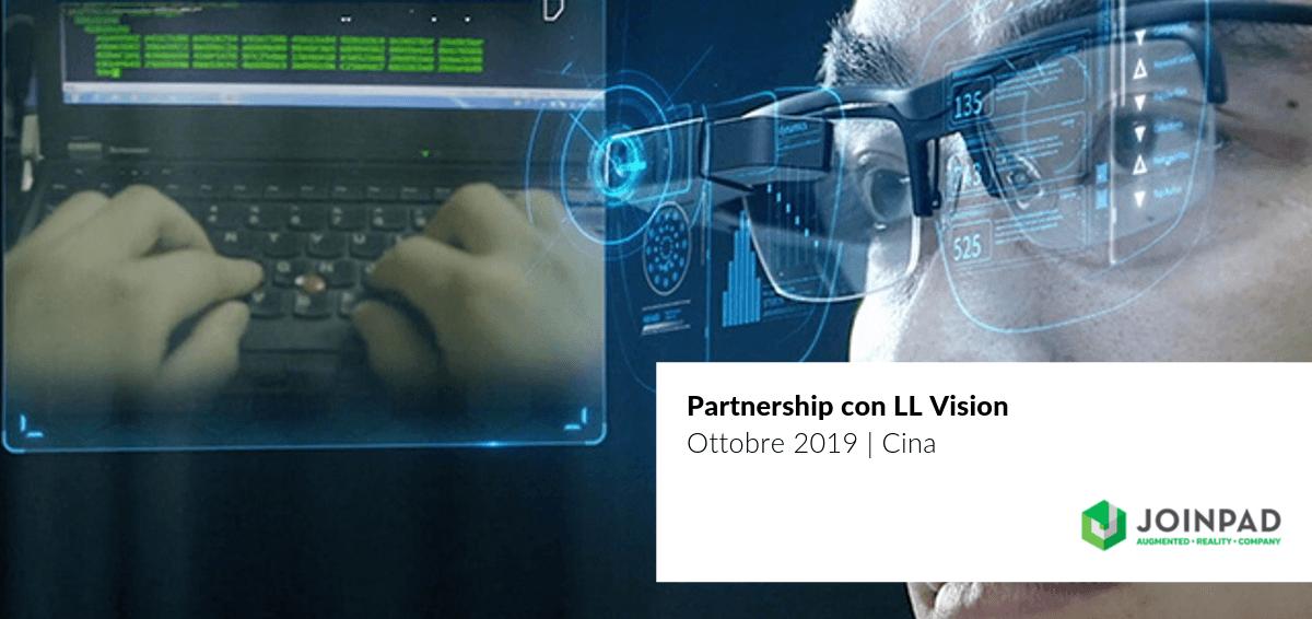 cover articolo partnership con LLVision