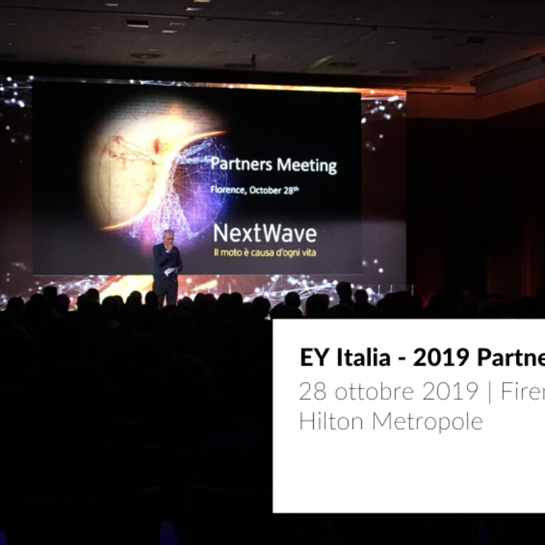 cover post EY 2019 Partner's Meeting nuove tecnologie JoinPad Realtà Aumentata