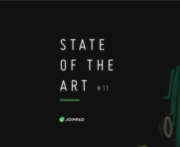 cover state of the art newsletter 11 by JoinPad Augmented Reality