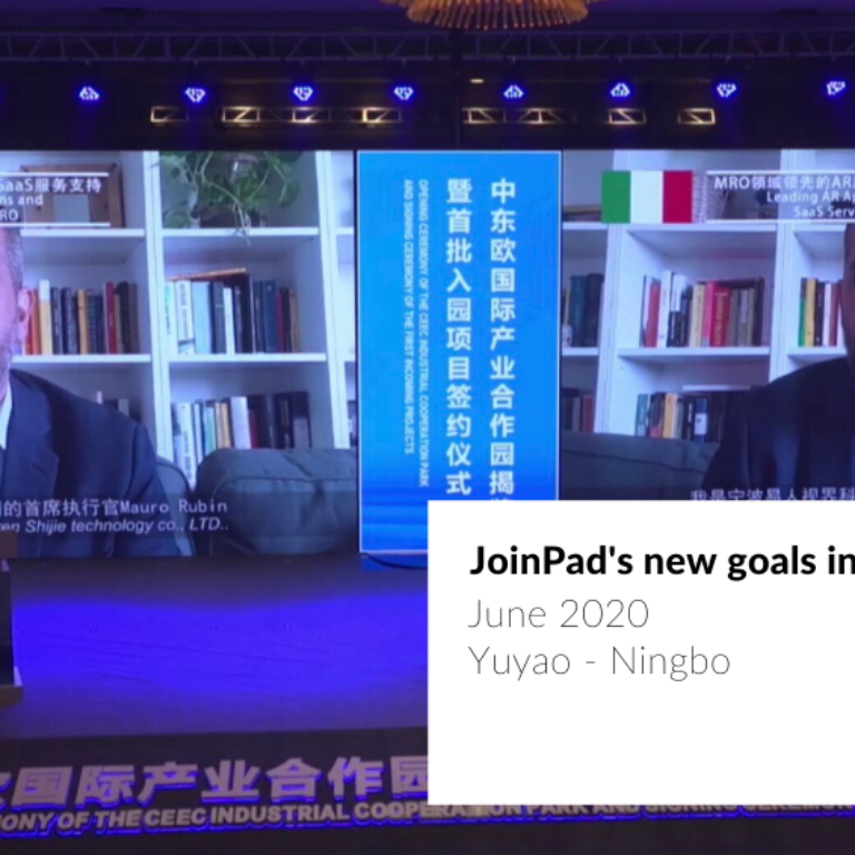 cover article on JoinPad about to opening a new Chinese branch in China
