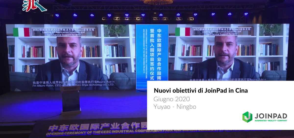 copertina articolo su JoinPad in procinto di aprire una nuova filiale cinese in Cina