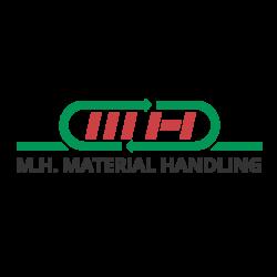 logo MH Material Handling quadrato