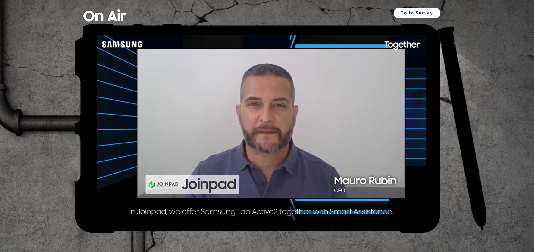 Mauro Rubin CEO JoinPad