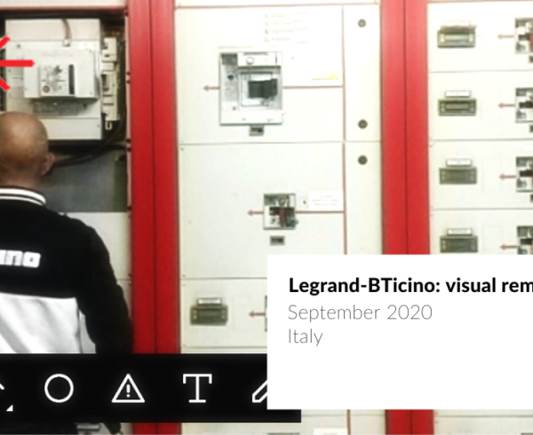 cover BTicino Augmented Reality remote support operator guided in the maintenance of an electric meter