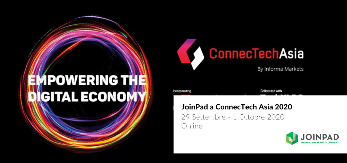 cover JoinPad a ConnecTech Asia 2020 Singapore e Thailandia