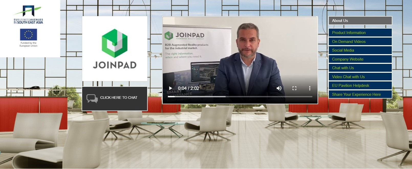joinpad virtual booth at connectech asia 2020