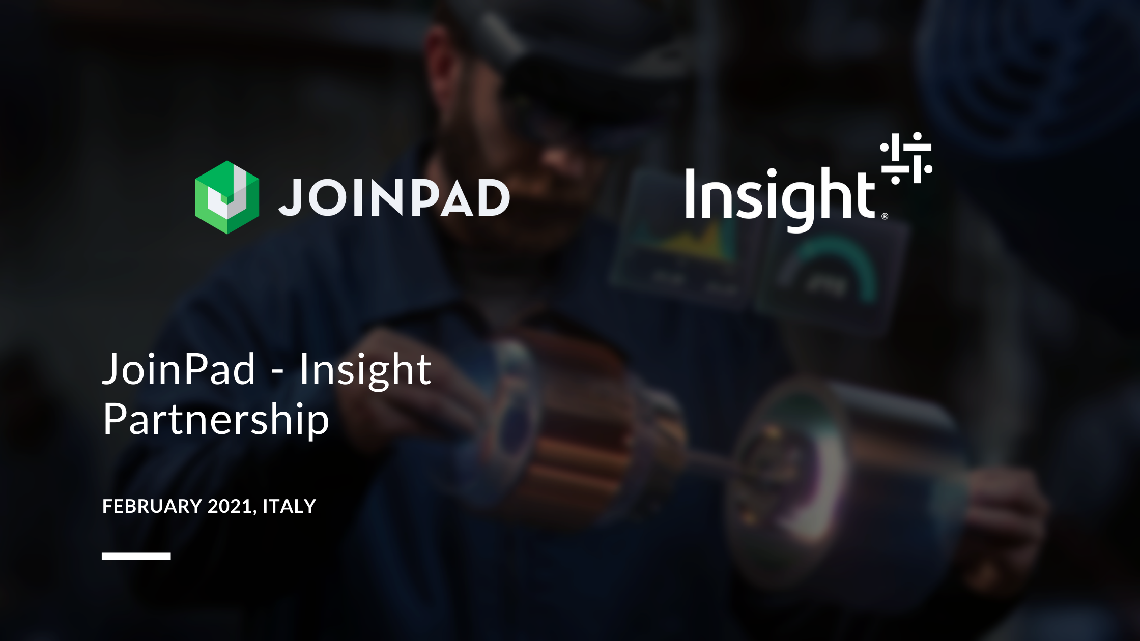 cover article joinpad and insight partnership english