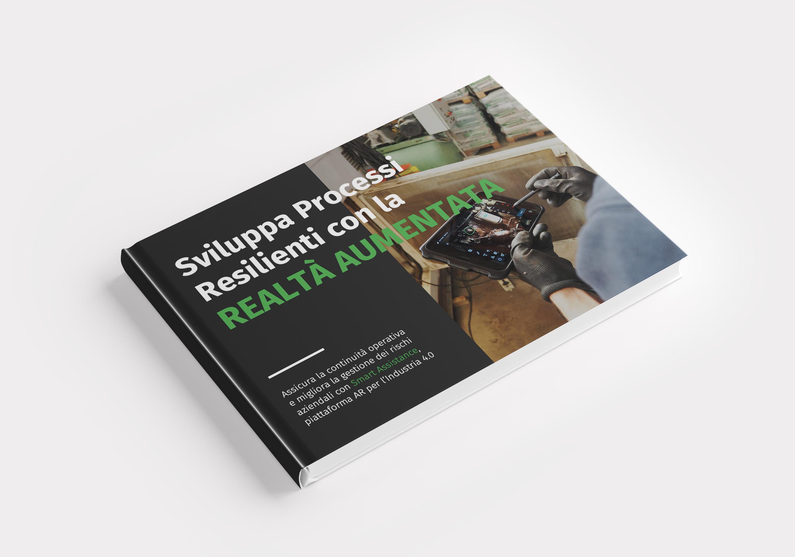 cover ebook sviluppa processi resilienti con la realtà aumentata
